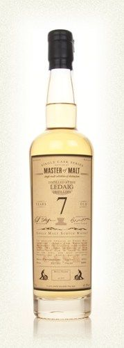Ledaig 7 Year Old - Single Cask (Master of Malt)