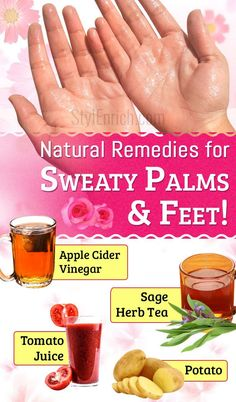 #SweatyPalms and Feet or Hyperhidrosis – Amazing Natural Remedies To Cure Them! If there are excessive sweating and wetness in their palms and feet even... - StylEnrich - Google+