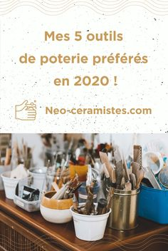 J'aimerais vous partager cette liste hors norme de mes outils préférés de l'année 2020 à l'atelier. Vous trouverez aussi une sélection de kit de poterie. Bonne lecture ! Creative Ideas, Kit, Blog, Pottery Tools, Doll Eyes, Earth, Atelier, Diy Creative Ideas