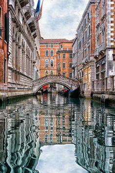 Venetian scenery. Italy.