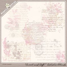 """Sweet&Soft"" artistic blends :: Brushes and Stamps :: Elements :: Memory Scraps"