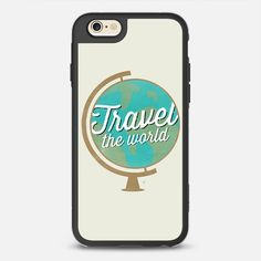 Travel The world - New Standard Case in Black and Clear by @allysonjjohnson | @casetify