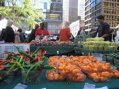 Dozens of markets are opening up across the city for the summer. Here's the list/map of all of Chicago's great farmer's markets!