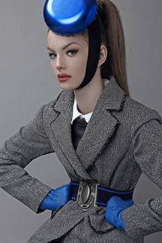 sexyqueen:  Photographer Bo Brinkenfalk capturess model Astrid (MIKAs) as madame la pouf in this extravagant luxury story for Schön Magazine...