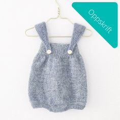 Puffy Romper via Knit by You. Click on the image to see more!