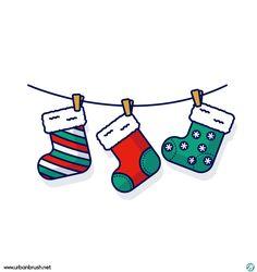 Christmas Doodles, Christmas Card Crafts, Christmas Drawing, Christmas Cards To Make, Christmas Stickers, Christmas Printables, Illustration Noel, Christmas Illustration, Christmas Rock