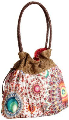 Desigual Unisex Adult Bols Ibizaarqui Dominic Handbag Algodon 32X51761015U: Amazon.co.uk: Shoes & Bags I love this!