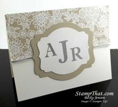Stampin' Up! Sophisticated Serifs stamp set