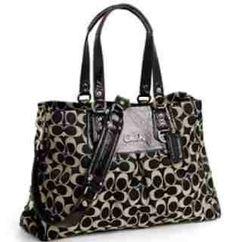COACH 15510 Ashley signature C sateen CC carryall satchel bag purse handbag Discount Coach Bags, Coach Handbags Outlet, Cheap Coach Bags, Coach Purses, Purses And Handbags, Coach Outfits, Coach Sneakers, Best Purses, Carry All Bag