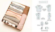 Clutter Organization, Home Organization Hacks, Comment Organiser Son Dressing, Konmari Methode, Tidy Up, Creative Home, Getting Organized, Declutter, Clean House