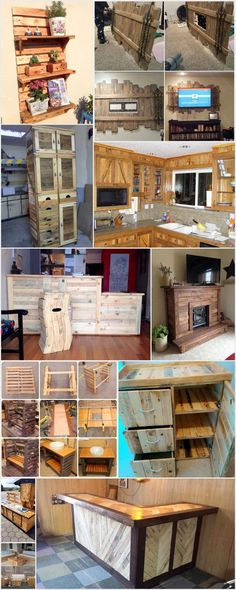 Cool and Easy Shipping Wood Pallet Projects: Wooden pallets are promptly available at all spots. It is a thing which can be utilized again and again. These wooden pallets are so helpful. Small Woodworking Projects, Easy Woodworking Ideas, Wood Projects That Sell, Easy Wood Projects, Diy Pallet Projects, Fine Woodworking, Pallet Ideas, Woodworking Equipment, Project Ideas