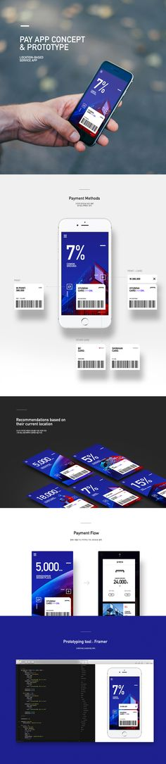 Pay App Concept & Prototype on Behance
