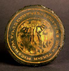 Base of a Plate Depicting the Good Shepherd, IV BCE. Musei Vaticani, Vaticano. Culture roman christian