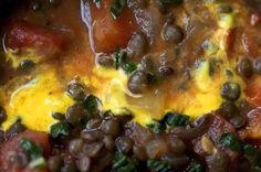 Lively up yourself lentil soup - with green or beluga lentils. Breakfast food!