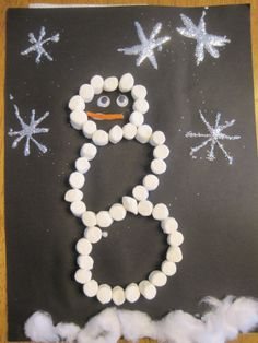 preschool candle craft | Savvy Spending: Preschool activities to learn about snow and ice!