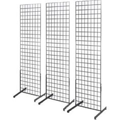 "$14- Gridwall Products :: Gridwall Panel Bases & Joining Clips :: Gridwall Free standing ""T"" Leg - store fixture,retail display,grid wall,slatwall,hanger,display case,hooks,jewelry display"