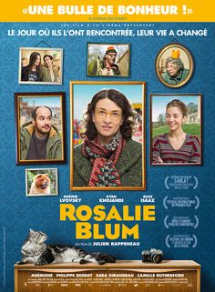 "Rosalie Blum (France, 2016) A bachelor in a small town with no life, attached and controlled by his mother, becomes fascinated by a woman in town and begins to follow her. This is certainly not the next ""Amelie"" as it has been billed, but is a mildly interesting, although forgettable, distraction. 2.3 stars"