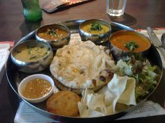 what else?  it has to be the tamatanga thali #tamatanga on Tagboard Palak Paneer, Tasty, Fan, Ethnic Recipes, Photos, Pictures, Hand Fan, Fans