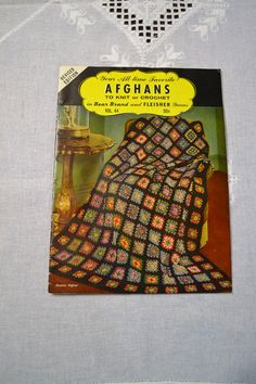 Hey, I found this really awesome Etsy listing at https://www.etsy.com/listing/226177563/vintage-bear-brand-crochet-afghan
