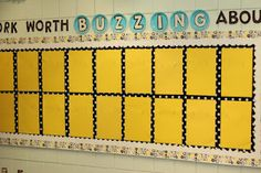 Bulletin Board 101- use in the hallway to display student art or other work