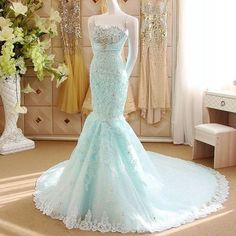 New Arrival Sexy Mermaid Prom Dress, Lace Strapless Prom Dress with Beaded , Sweetheart Prom Dress with Embroidery,139