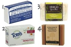 The Best Natural Soaps for Bath and Body...of course, I buy my natural soap locally from All Good Things.