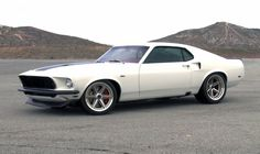 """Anvil"" Mustang: http://mustangsdaily.com/blog/2011/04/25/video-1969-anvil-mustang-takes-on-willow-springs-raceway/"