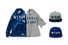 wtaps x ebbets field flannels 2014 fall winter collection