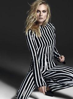 Diane Kruger wearing Marc Jacobs SS13