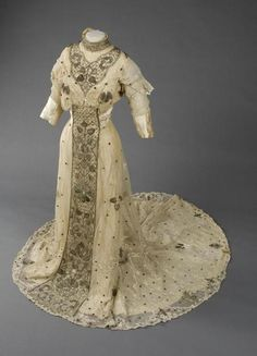 Wedding dress, 1910From the State Hermitage Museum
