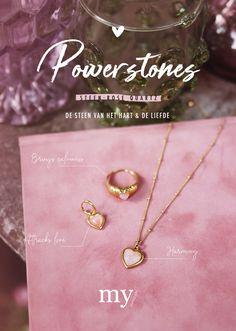 My Jewellery Powerstones Rose Quartz Cute Jewelry, Gold Jewelry, Ring Necklace, Arrow Necklace, Bracelet Display, Special Dresses, Wire Wrapped Jewelry, Fasion, Rose Quartz