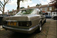 My 500SE rear view