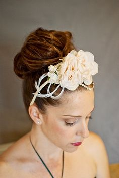 Flowers and Feathers Headband