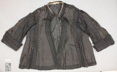 NYCKELORD/TITEL tröja svart KORTBESKRIVNING Jacka av svart sidenrips. NAMN Ägare: Karl X Gustav av Sverige DATERING 1650-tal ÖVRIGA NYCKELORD jacka SAMLING Livrustkammaren INVENTARIENUMMER 19310 (3405:a)