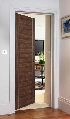 Alu 9324 Oak Bespoke - contemporary style door with beautiful aluminium inlays perfect for modern homes Cottage Door, Modern Mountain Home, Timber Door, Fire Doors, Traditional Doors, Modern Door, Single Doors, Internal Doors, Entrance Doors