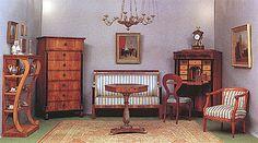 Biedermeier Muebles: La forma sigue a la función