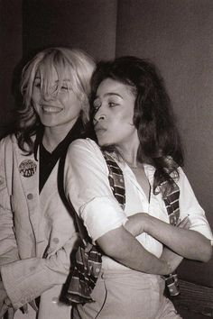 Debbie Harry & Ronnie Spector.