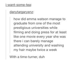 She really is Hermione. :) I absolutely idolize Emma for doing this and just being the wonderful person she is.