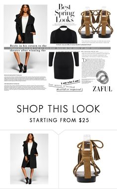 """Spring"" by difen ❤ liked on Polyvore featuring H&M and Balmain"
