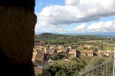 Blick auf Mallorcas Hinterland vom Hotel Es Reco de Randa
