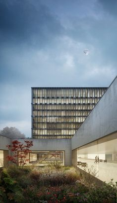 Berrel Berrel Kräutler bauen für WHO / Yin Yang am Genfer See - Architektur und Architekten - News / Meldungen / Nachrichten - BauNetz.de