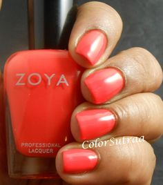 ZOYA Tickled collection for Summer 2014 : Rocha