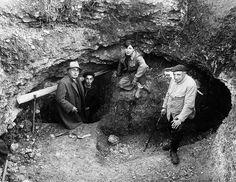 1940: Lascaux wordt ontdekt.