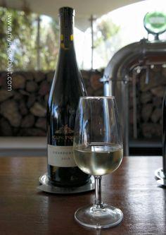 Weinverkostung auf Cape Point Vineyards - Chardonnay 2015