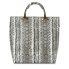 New Look Large Grey Snakeskin bag €29.99
