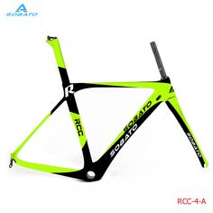 New arrival Beautiful green color painting Super light carbon road frame China carbon aero frame fork seatpost carbon bike frame