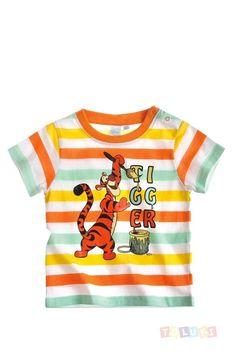 T-shirt Tigrou multi-color https://www.toluki.com/prod.php?id=1023 #enfant #Toluki #Winnie #Oursons