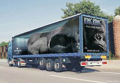 King Kong common carrier photoshopped #FreightCenter #marketing