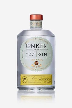 """ For Dorset's first gin distillery, Conker Spirit, interabang has created an absolutely fascinating design. Conker takes a step away from tradition to pursue the new and exciting, all while focusing on premium quality. Beverage Packaging, Bottle Packaging, Brand Packaging, Design Packaging, Gin Distillery, Gin Brands, Gin Bottles, Conkers, Dry Gin"