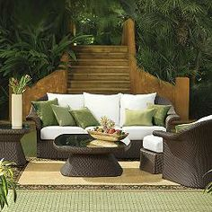 Flair Outdoor Wicker Seating